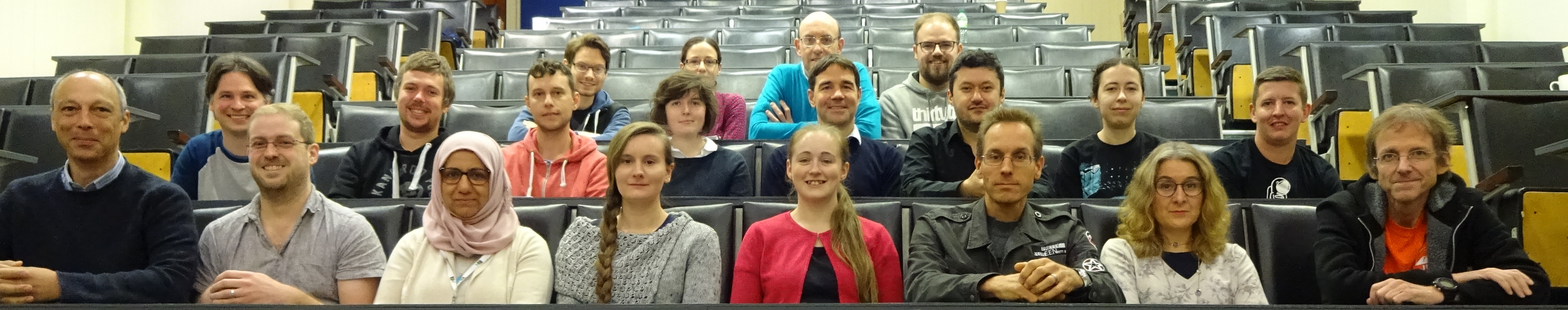 Keele Astrophysics Group Photograph